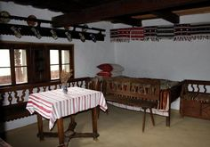 """Traditional houses in rural Romania (case traditionale romanesti) *** Upon arriving in her new home country in the young wife of Prince Carl of Romania noticed in her writings: """"Every R… Craftsman House Plans, Country House Plans, Small House Plans, Tiny House Layout, House Layouts, Types Of Houses Styles, House Styles, Rustic Houses Exterior, Modern Lake House"""