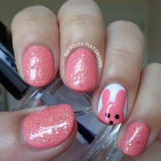 Dusky pink Easter.