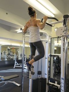 Want to get your first pull-up? Here's how. | Neghar Fonooni featured in the Washington Post