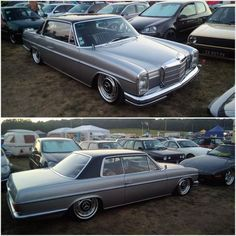 #mercedes #benz #250ce #w114 #mercedesclassique #benz #stance #low #airride