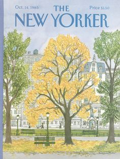 The New Yorker - Monday, October 14, 1985 - Issue # 3165 - Vol. 61 - N° 34 - Cover by : Barbara Westman