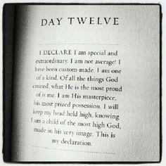 I declare... I am special