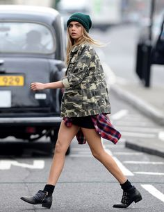 Love her style.