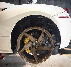 $tuningcars - Tuning Car Pictures Looks awesome on the 488GTB. @velosdesignwerks #ferrari #488 #488gtb #gtb #… #neoncar