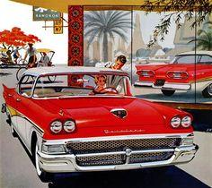 An original '58 a Ford Fairlane AD