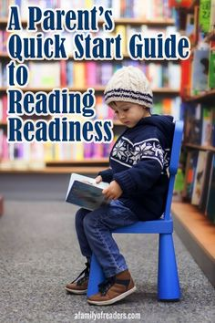 A Parent's Quick Start Guide to Reading Readiness helps you set your child up for success in learning to read. Click through and download yours for free today.