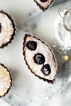 blackberry & lime financiers