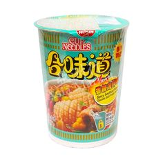 Buy Nissin Spicy Seafood Cup instant Noodle online from Asia Market. The seafood flavour is mainly through cuttlefish, clam, bonito, and sardine ingredients. Seafood Ramen, Nissin Cup Noodles, Cup Ramen, 15 Bean Soup, Tteokbokki, Asian Grocery, Asian Noodles, Food Drawing, Ben And Jerrys Ice Cream