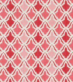 Home Decor Print Fabric- Waverly On Display/Watermelon: home decor fabric: fabric: Shop   Joann.com