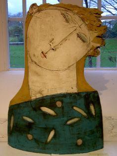 Christy Keeney slab-built ceramic sculpture