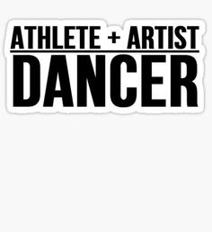 Dancer stickers featuring millions of original designs created by independent artists. All About Dance, Dance It Out, Irish Dance, Latin Dance, Cardio Quotes, Ballet Crafts, Dancer Quotes, Dance Team Gifts, Crazy Genius
