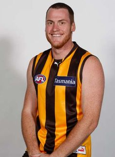 MER12028 - #2 Jarryd Roughead 2012 Home and Away Guernsey v Collingwood - Round 1