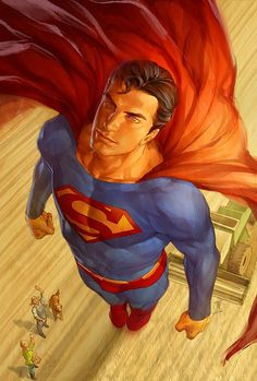 """Superman #707//Jo Chen/C/ Comic Art Community GALLERY OF COMIC ART ❁❁❁Thanks, Pinterest Pinners, for stopping by, viewing, pinning, & following my boards. Have a beautiful day! ❁❁❁ **<>**✮✮""""Feel free to share on Pinterest""""✮✮"""" #fashion #gifts www.unocollectibles.com"""