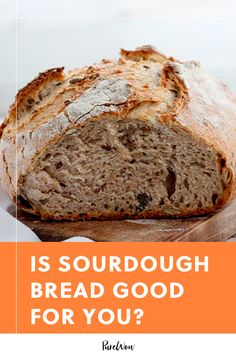 Is Sourdough Bread Good for You? We Asked a Nutritionist Sourdough Bread Healthy, Healthy Bread Recipes, Sourdough Recipes, Baking Recipes, Healthy Food, Healthy Eating, Bread Dough Recipe, Best Food Photography, Sugar Cookies Recipe