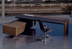 CEOO desk by Walter Knoll - working desks / systems - design at STYLEPARK