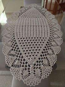 Muito lindo estes tapetes canoa, que pode ser também trilho de mesa, Pinterest Crochet Diagram, Crochet Chart, Filet Crochet, Crochet Motif, Crochet Table Topper, Crochet Table Mat, Crochet Tablecloth, Lace Doilies, Crochet Doilies