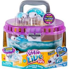 Little Live Pets S4 Lil' Turtle Tank, Assorted