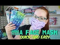 How to sew a reusable face mask – Quick and easy tutorial with Billette's Baubles – Diy Mask Fabric Small Sewing Projects, Sewing Projects For Beginners, Sewing Hacks, Sewing Tutorials, Sewing Tips, Easy Face Masks, Homemade Face Masks, Diy Face Mask, Bias Tape