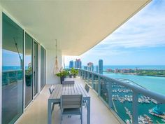 Stunning flow-thru 3,058 sf condo offers one of the most preferred & largest layouts with majestic bay, ocean,...