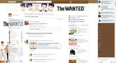 Theme for Facebook - The Wanted