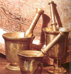 Copper Work, Carthage, Mortar And Pestle, Shabby Vintage, North Africa, Belle Epoque, Islamic Art, 1, Traditional