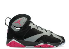best service dbe21 78f0e 2018 Original AIR JORDAN 7 RETRO GG GS SPORT FUCHSIA black sprt fchs-cl  gry-wlf gry 442960 008 For Sale