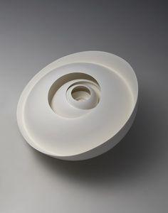 "Yoon Sol #ceramics #porcelain [''infinity, variation 2006-10""]"