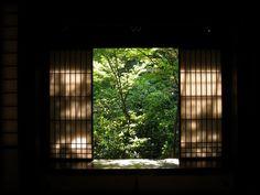 大徳寺・高桐院, imagine opening your bedroom door and this is the view. Perfect