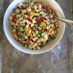 Pastasalat - Mat På Bordet Salad, Ethnic Recipes, Salads, Lettuce