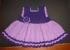 Ravelry: LuisaBaccellieri's Adorable Crocheted Baby Dress