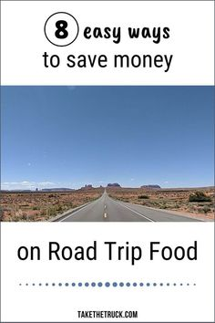 Learn how to save money on food on a road trip with these 8 simple road trip food and meal tips. Budget road trip meals and food can be good, healthy, and help you save money.