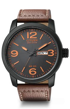 Citizen Eco-Drive  military style BM8475-26E 42 mm, 100 m WR, mov't Eco-Drive E011