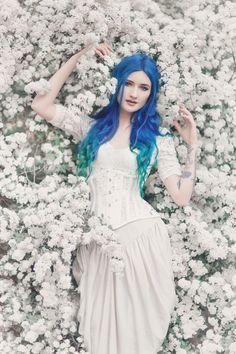 model bluexastrid photography anetapawska corset ladyardzesz corset