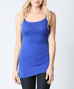 This 42POPS Bright Royal Camisole - Plus by 42POPS is perfect! #zulilyfinds