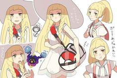 Lillie from Pokémon Sun and Moon