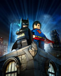 Lego Batman 2 DC Super Heroes by Albert Co, via Behance
