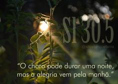 REDE MISSIONÁRIA: SALMO 30:5