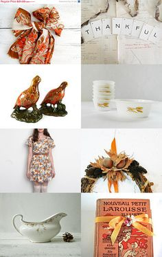 Thanksgiving collection by ElmPlace.etsy.com #VintageAndMain #Thanksgiving