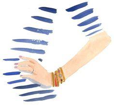 with bracelets