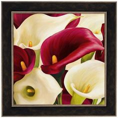 Metaverse Art Calla Composition Framed Canvas Wall Art ($290) ❤ liked on Polyvore featuring home, home decor, wall art, multicolor, framed floral wall art, framed canvas wall art, framed wall art, colorful wall art and horizontal wall art