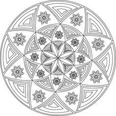 168 Best Printable Mandalas to Color - Free images | Mandala ...
