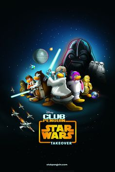 It's A Star Wars Takeover On Club Penguin!