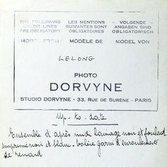 Ensemble Up-to-date de Lucien Lelong, photographie d'époque du studio Dorvyne (circa 1935)