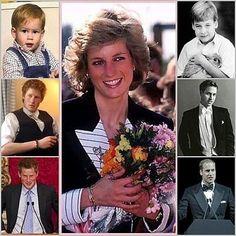 Princess Diana & Her Boys--