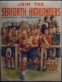 toronto highlander regiment. world war 2 | Seaforth Highlanders recruiting poster