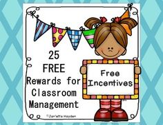 Pin now for Back to School!  Are you looking for ways to motivate your students that cost you nothing?  This is a set of 25 incentives that are absolutely FREE for the teacher.  In my class, I put these in a binder so that students may shop to see which incentive they want to work toward.