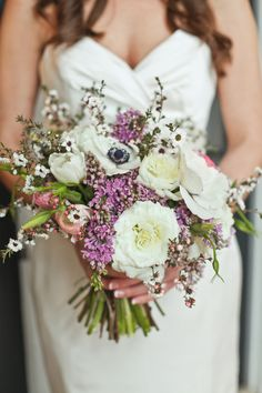 Rustic Wildflower Wedding Bouquet. Want wild or wild-looking flowers. Is that a thing?