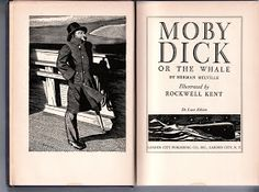 Blue Fedora: Moby Dick Illustrations by Rockwell Kent