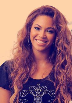 Beyoncé. She's just gorgeous!