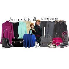 Disney Bound - Anna + Kristoff